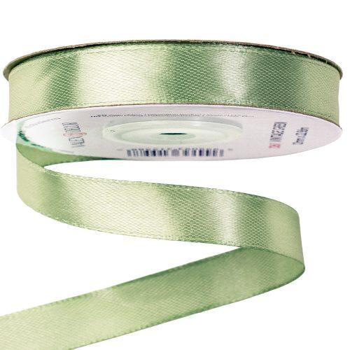 Szatén szalag 12mm x 22.86m - Vintage Green