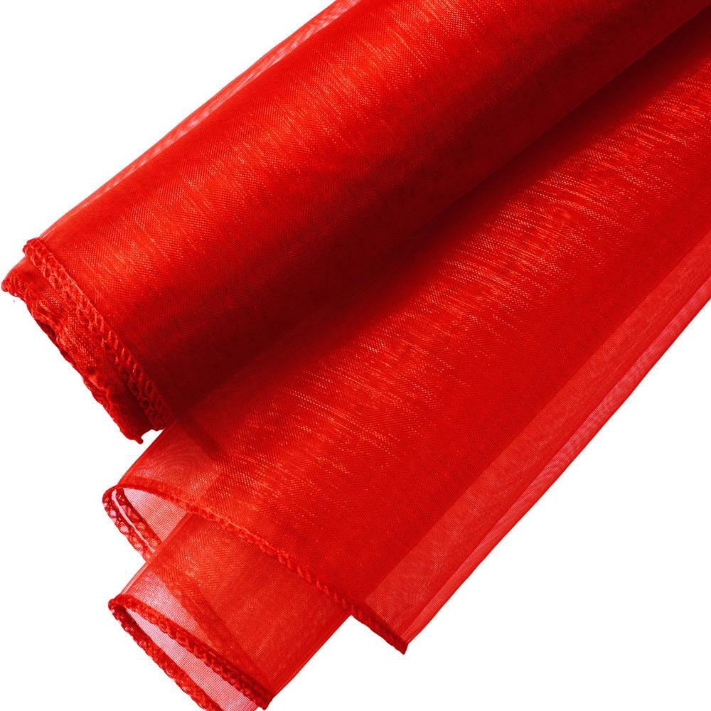 Organza 20cm x 8.2m - Piros - Valex Decor Kft.  6732363914