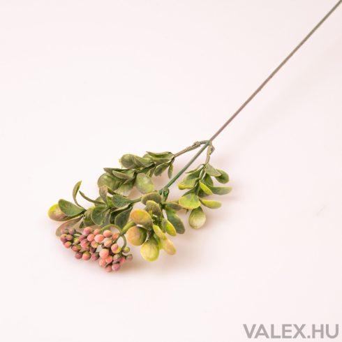 Szálas dekoráció - Őszi rózsaszín