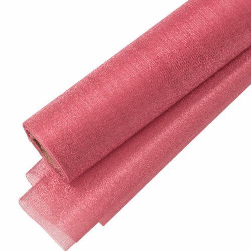 Snow organza 23.5cm x 10m - Őszi rózsaszín