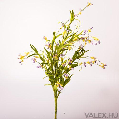 Bogyós dekor csokor - Levendula lila