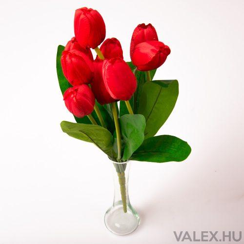 9 ágú tulipán csokor - Piros