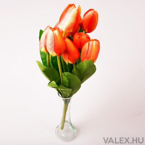 9 ágú tulipán csokor - Narancssárga