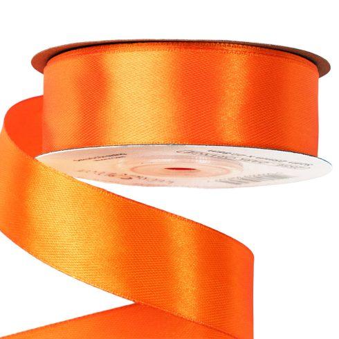 Szatén szalag 25mm x 22.86m - Sötét narancssárga