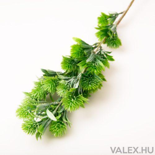 Szálas zöld műnövény dekoráció - Világos zöld