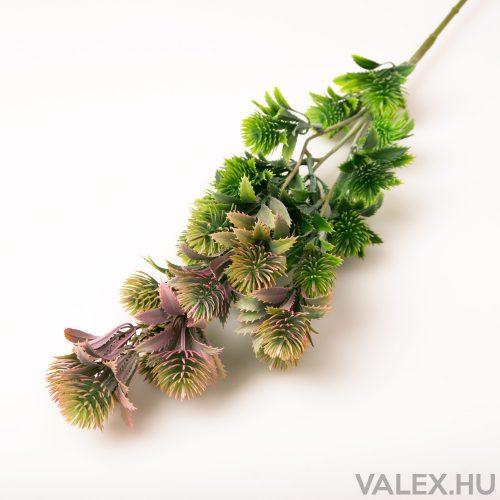 Szálas zöld műnövény dekoráció - Mályva