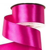 Szatén szalag 38mm x 22,86m - Sötét rózsaszín