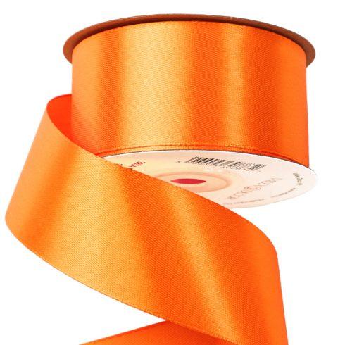 Szatén szalag 38mm x 22.86m - Sötét narancssárga