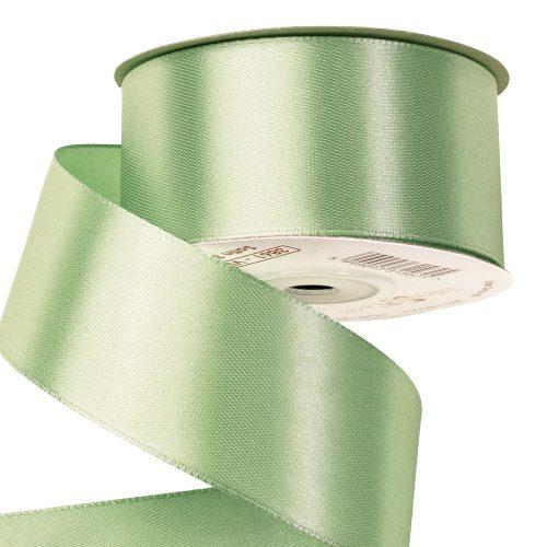 Szatén szalag 38mm x 22.86m - Vintage Zöld