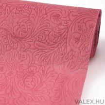 3D virágmintás vetex 50cm x 4,5m - Őszi rózsaszín