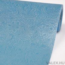 3D virágmintás vetex 50cm x 4.5m - Kék