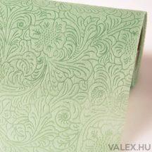 3D virágmintás vetex 50cm x 4,5m - Ekrü