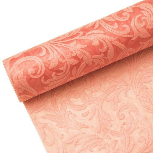 3D Inda mintás vetex 50cm x 4.5m - Világos Rózsaszín