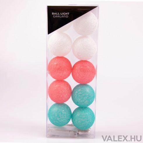 Ball Light Garland -  Dekor gömb fényfüzér