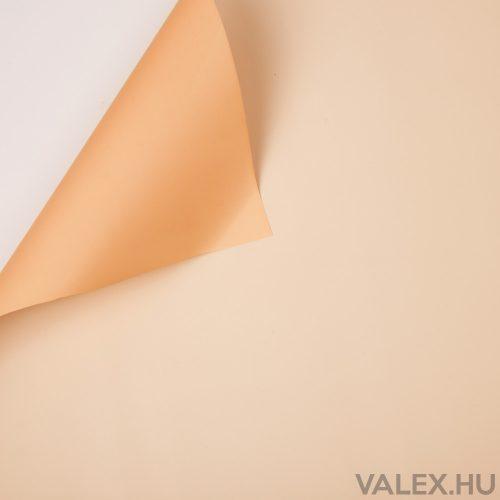 Kétszínű fólia tekercs 58cm x 10m - Barack / Ekrü