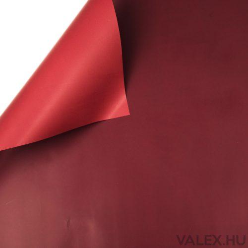 Kétszínű fólia tekercs 58cm x 10m - Bordó / Piros
