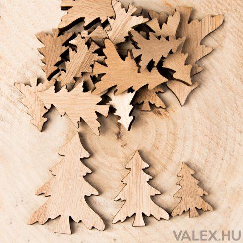 18db.-os karácsonyi dekor - fenyőfa