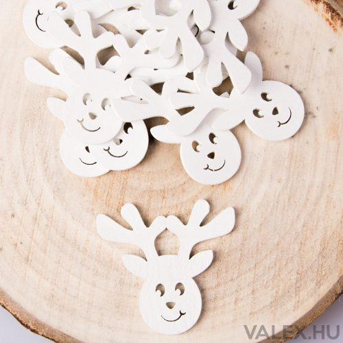 10db.-os karácsonyi dekor (kb. 6cm) - Szarvas #1