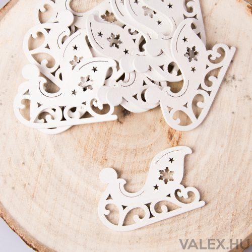 10db.-os karácsonyi dekor (kb. 6cm) - Szán