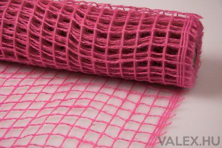 Dekorháló 50cm x 4.5m - Rózsaszín