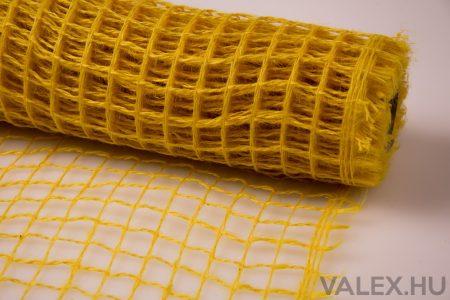 Dekorháló 50cm x 4.5m - Sárga