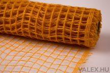 Dekorháló 50cm x 4.5m - Világos narancssárga