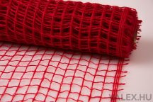 Dekorháló 50cm x 4.5m - Piros