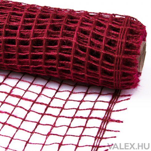 Decor Net 50cm x 5m - Burgundy