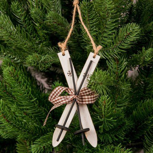 Karácsonyfadísz 12 x 4.5cm - Fa síléc