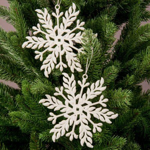 2db. Hópihe karácsonyfadísz 13 x 10cm