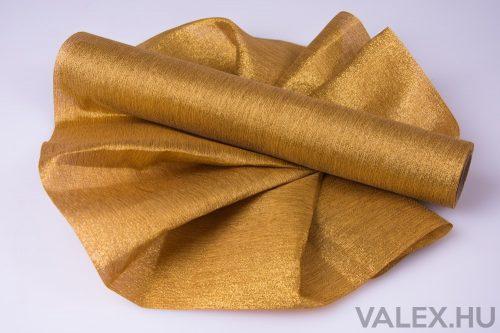 Metál vászon 36cm x 4.5m - Bézs-Arany