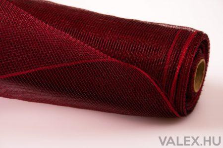 Plasztik háló 53cm x 9.1m - Piros-Fekete