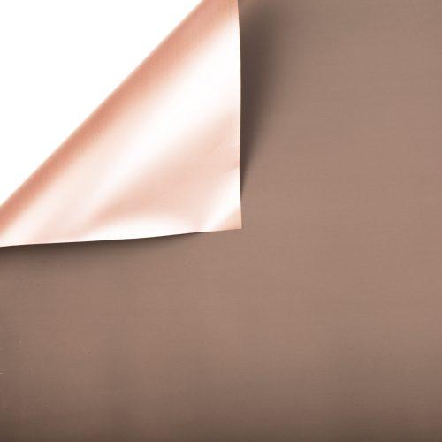 Szürke / Rose gold fólia tekercs 58cm x 10m
