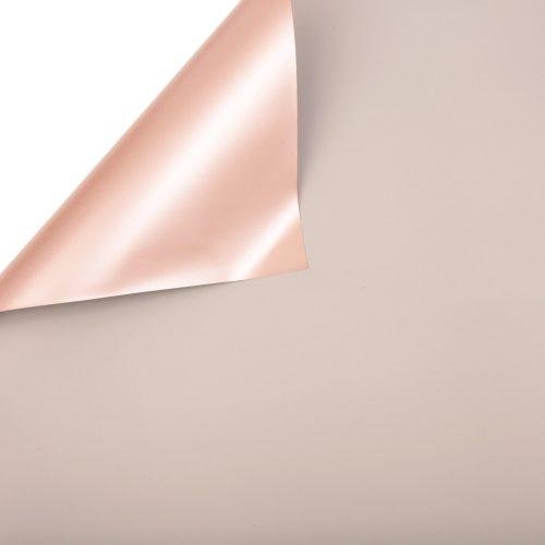 Kékesszürke / Rose gold fólia tekercs 58cm x 10m