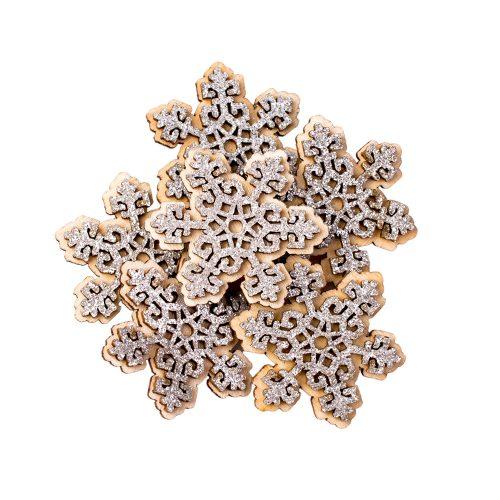 6db. Öntapadós hópihe dekoráció 5cm