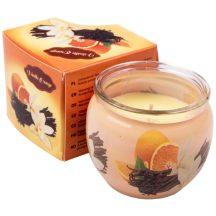 """""""Vanília-Narancs"""" poharas illatmécses"""