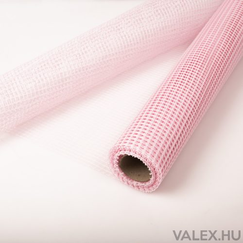 Valensz Háló 50cm x 4.5m - Világos rózsaszín