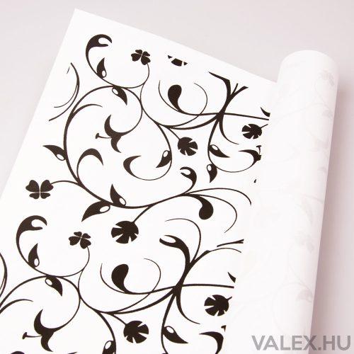 Fehér kraft papír 61cm x 43cm - Indás (20db.)