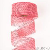 Juta szalag 5cm x 10m - Rózsaszín