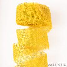 Juta szalag 5cm x 10m - Sárga