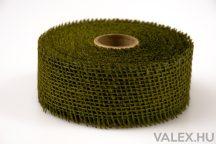 Juta szalag 5cm x 9m - Tea zöld 2