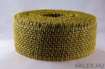 Juta szalag 5cm x 9m - Tea zöld 3
