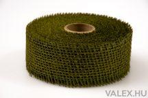 Juta szalag 5cm x 10m - Tea zöld