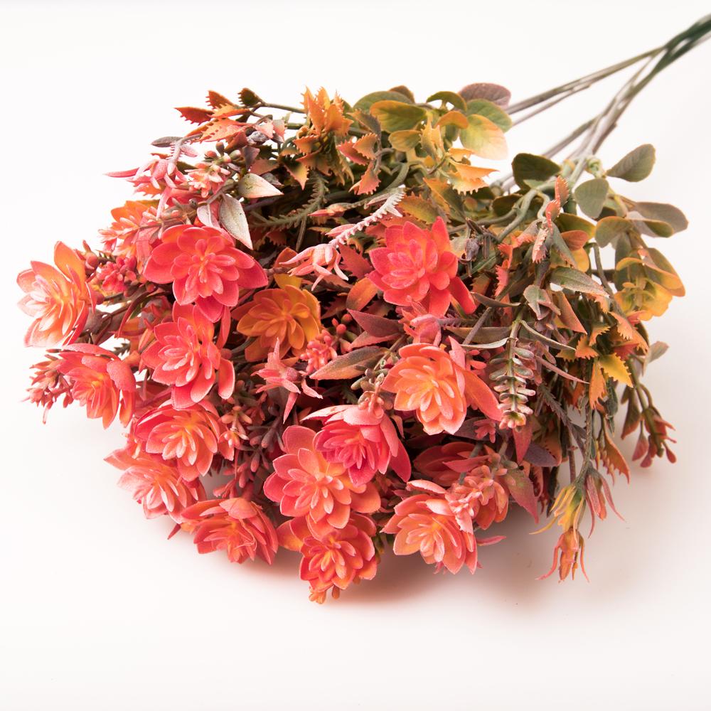 Műanyag virágcsokor